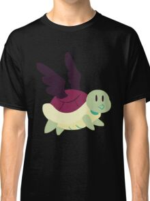 Black Winged Turtle Classic T-Shirt