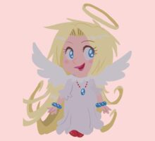 Blond Angel Girl One Piece - Short Sleeve