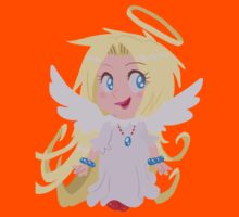 Blond Angel Girl Kids Clothes