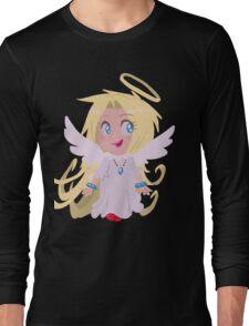 Blond Angel Girl Long Sleeve T-Shirt