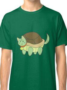 Green Cat Turtle Classic T-Shirt