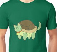 Green Cat Turtle Unisex T-Shirt