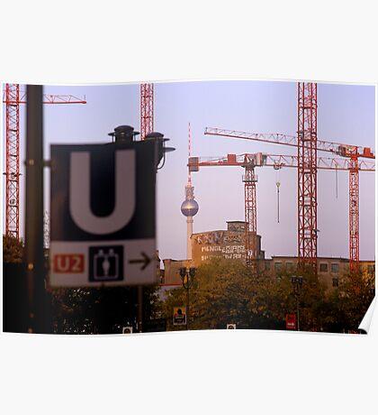 Leipziger Platz, Berlin 2012 Poster