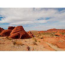 Red Rocks Landscape Photographic Print