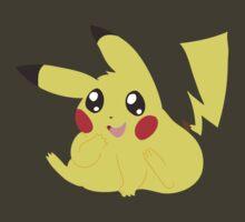 Chubby Pikachu by SaradaBoru