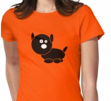 Sweetest doggy Womens Fitted T-Shirt
