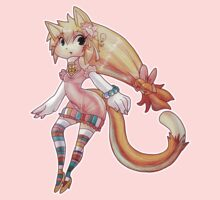 Pretty Blond Cat Girl by SaradaBoru