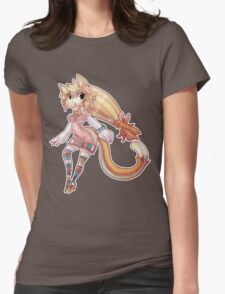 Pretty Blond Cat Girl T-Shirt