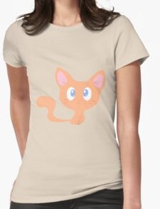 Cute Orange Kitty T-Shirt