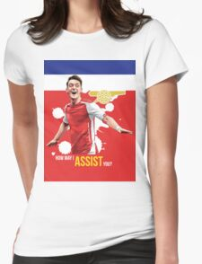 Mesut Ozil Womens Fitted T-Shirt