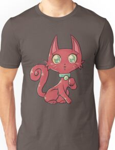 Pretty Red Kitty Cat Unisex T-Shirt
