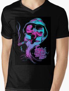 Fear & Loathing on Sesame Street Mens V-Neck T-Shirt