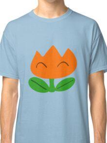 Simple SMW Fire Flower Classic T-Shirt