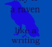 why is a raven like a writing desk? by aastrid