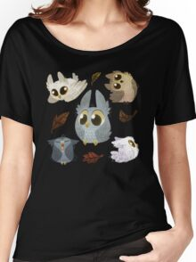 Puffy Owls Women's Relaxed Fit T-Shirt