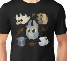Puffy Owls Unisex T-Shirt