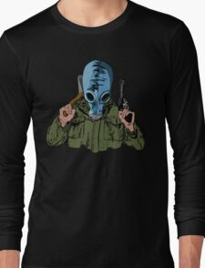 Dead Man's Shoes Comic Style Illustration Long Sleeve T-Shirt
