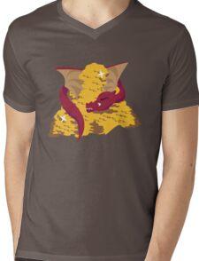 King Under the Mountain Mens V-Neck T-Shirt