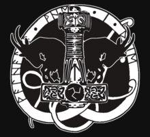 The Norse God Thor by Antony Potts
