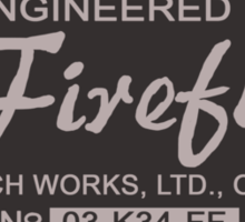 Firefly Coach Works LTD Sticker