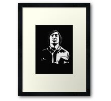 Anton Chigurh (Javier Bardem) No Country For Old Men  Framed Print