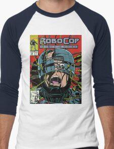 Robocop Comic Men's Baseball ¾ T-Shirt