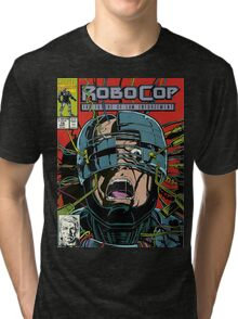 Robocop Comic Tri-blend T-Shirt