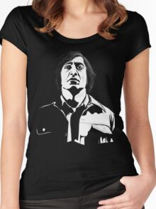 Anton Chigurh (Javier Bardem) No Country For Old Men  Women's Fitted Scoop T-Shirt