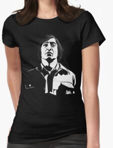Anton Chigurh (Javier Bardem) No Country For Old Men  Womens Fitted T-Shirt