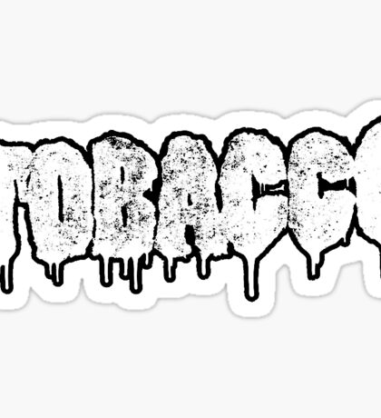 TOBACCO LOGO Sticker