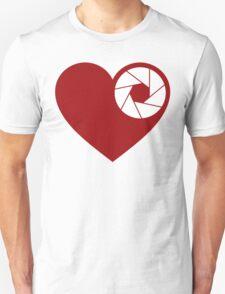 Heart Aperture Unisex T-Shirt