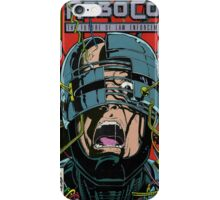 Robocop Comic iPhone Case/Skin