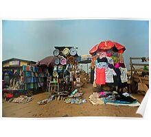 Street Shops Lagos 4 Poster