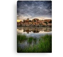 Overcast Split 2 Canvas Print