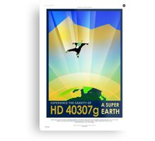 Vintage SpaceX HD 40307g Science Fiction Metal Print