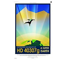 Vintage SpaceX HD 40307g Science Fiction Photographic Print