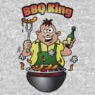 BBQ King by cardvibes