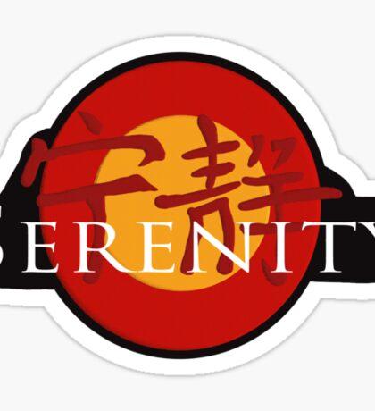 Serenity Sticker