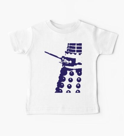 Dr Who Dalek Baby Tee
