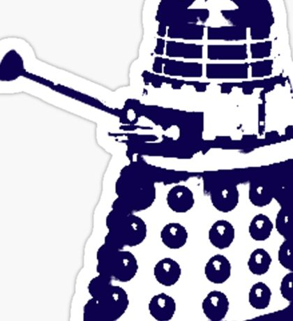Dr Who Dalek Sticker