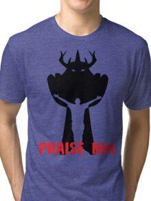 Praise Him! Tri-blend T-Shirt