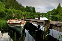 Loch Ard,Trossachs ,Scotland by Jim Wilson