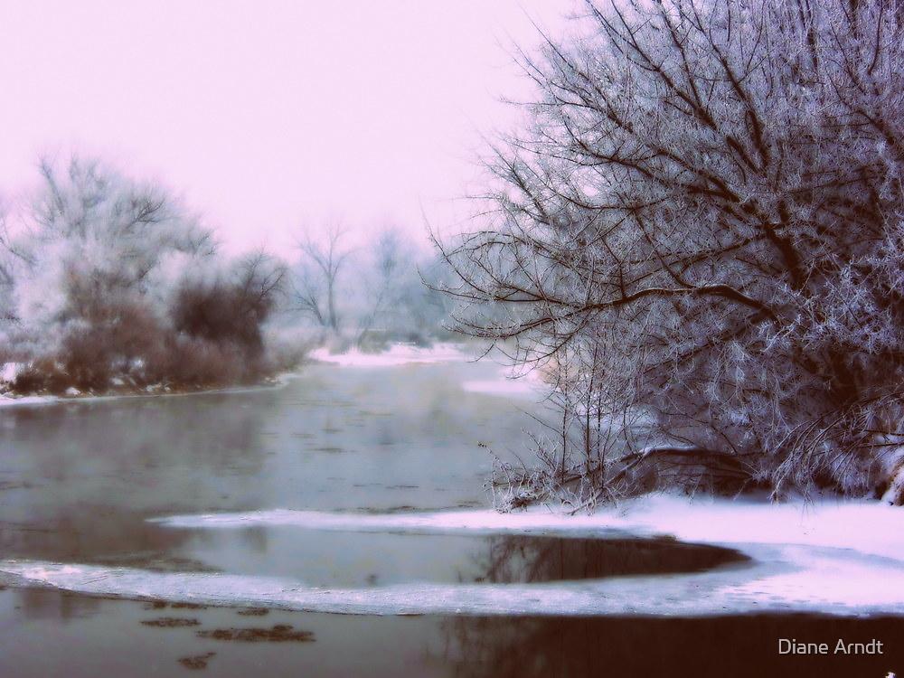 Boise River....Caldwell, Idaho...7 degree's  by trueblvr