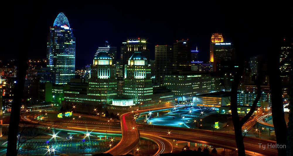 Overlooking the Queen City 2 by Ty Helton