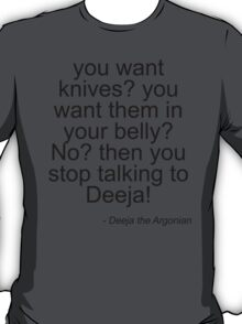 Deeja the Diva - Light T-Shirt