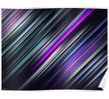Colorful Streaks Poster