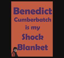 Benedict Cumberbatch is my Shock Blanket Kids Clothes