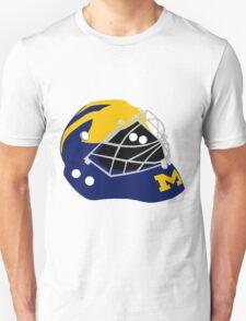 University of Michigan Wolverines Winged Goalie Mask T-Shirt
