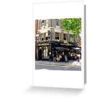 The Porcupine - London, UK Greeting Card