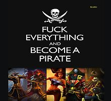 Become a Pirate - League of legends by Clengtan